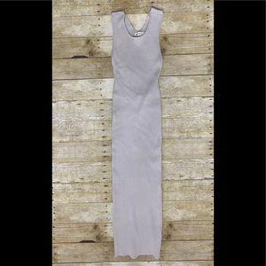 NWOT Vintage Nova ribbed midi dress
